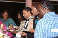 The food was superb at the closing reception