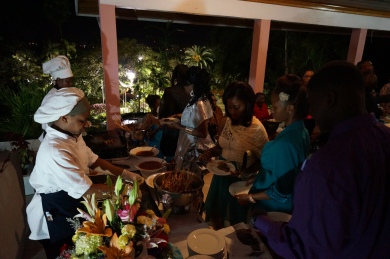 The food was quite lovely thanks to Chef Forbes and the staff at The Government House