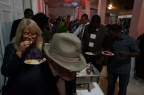 Everyone enjoyed the various foods served at the closing reception